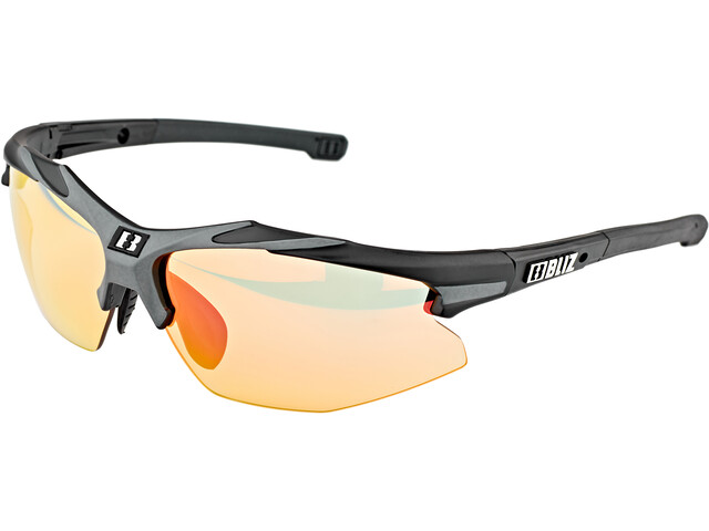 Bliz Hybrid M18 Glasses for Small Faces Ultra Lens Science matt black/photochromic red multi